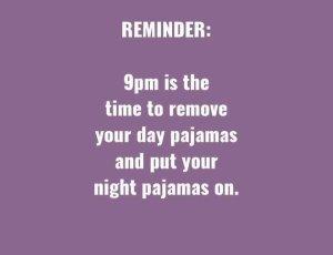 funny pajamas meme