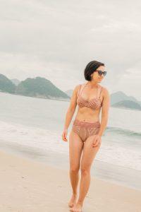 50s Holi Vintage High Waist Bikini