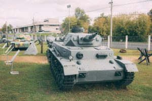Exhibition of Military Equipment and Weapons in the Open Air Exhibition