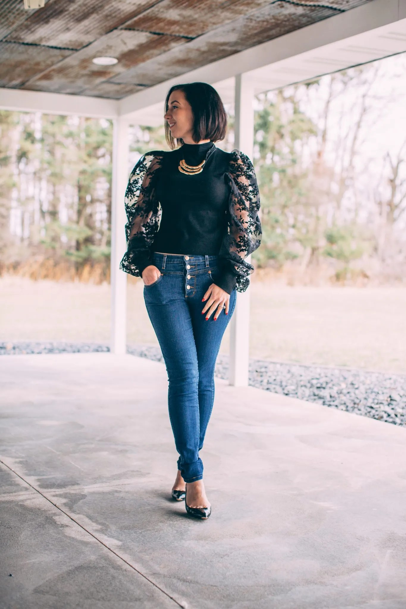 Trying Trends – Styling Puff Sleeve Dresses & Tops