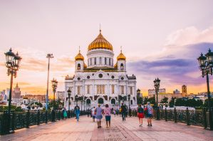 the Cathedral of Christ the Saviour - best things to do in Moscow