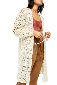 Free People Sweet Talker Crochet Cardi from Nordstrom Rack - sites like Nordstrom