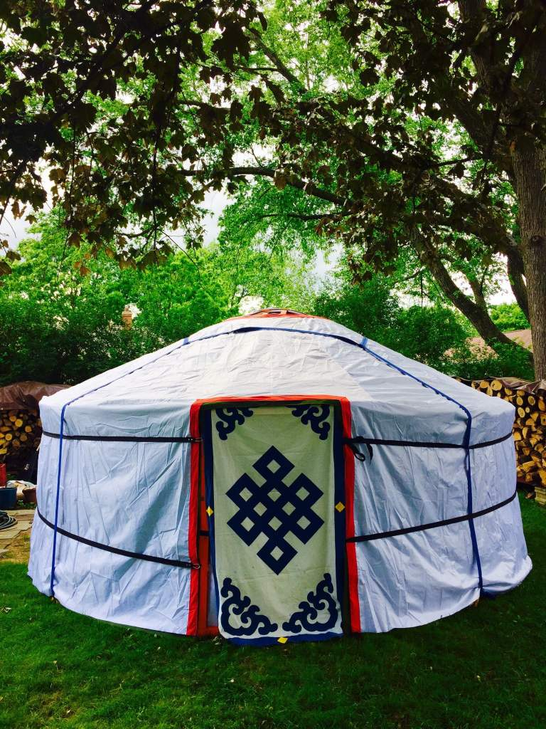 Experience a true nomad dwelling !
