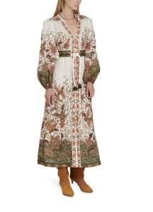 ZIMMERMANN Buttoned long dress