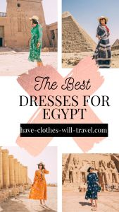 Cute Dresses for Egypt + Modest Yet Stylish Egypt Outfit Ideas