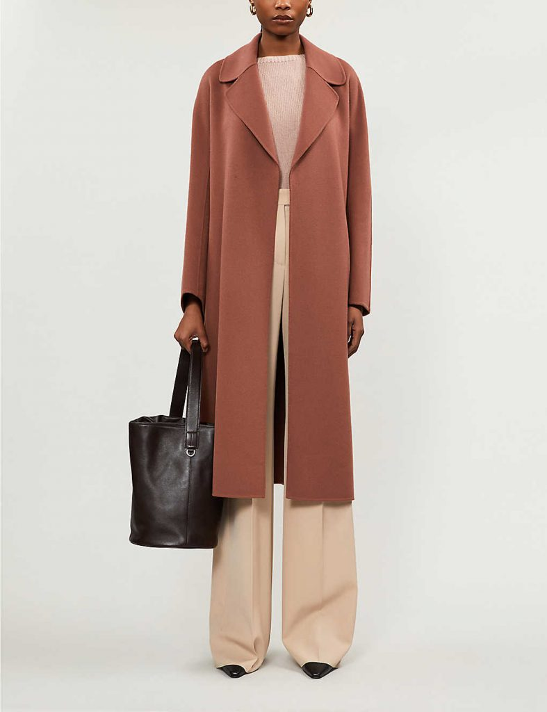 S MAX MARA Reus belted wool coat