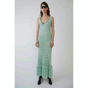 acne studios midi length dress