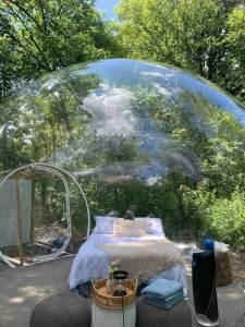 Star Gazing Bubble Camp.