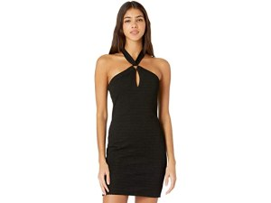 BCBGeneration Cocktail Halter O-Ring Bodycon Dress SB1SX5D03
