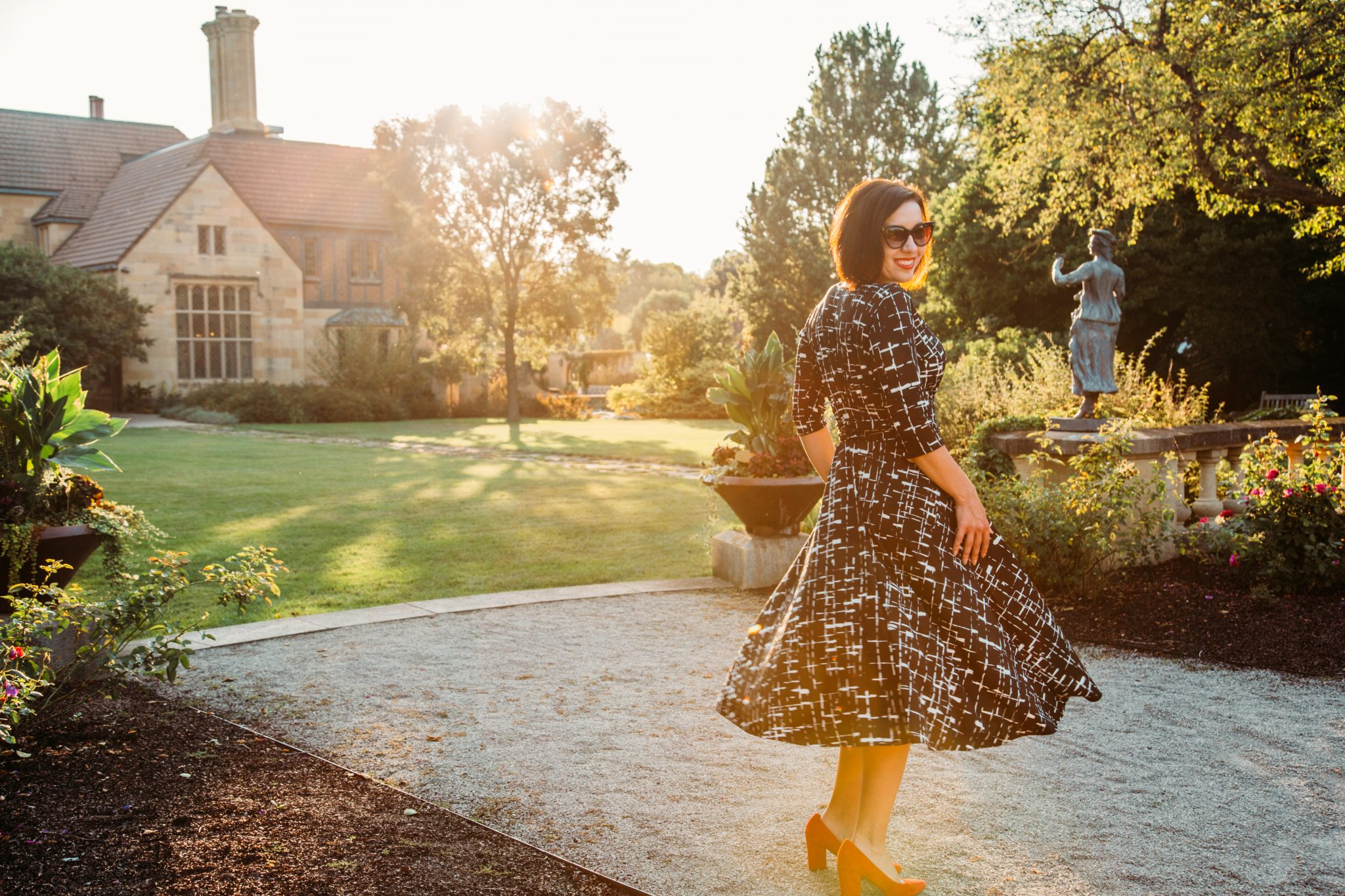 Karina Margaret Dress Review – Worn in Summer & Winter