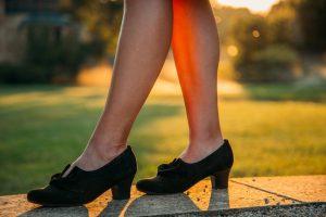 Black Donna Heels Review in wide width