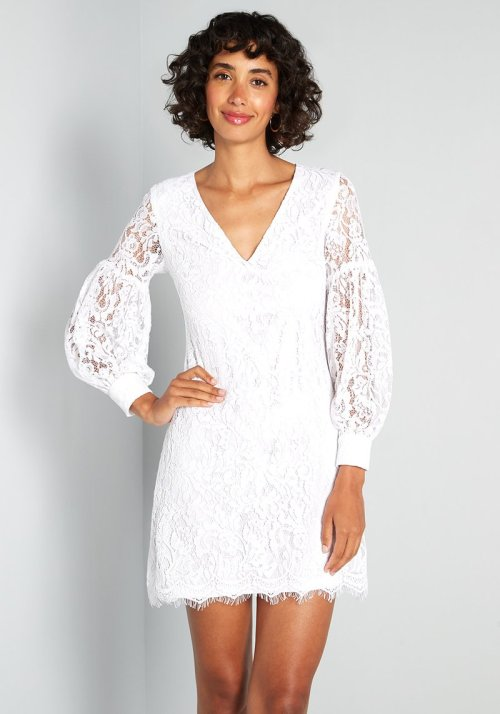 For Love and Lace Mini Dress By Little Mistress