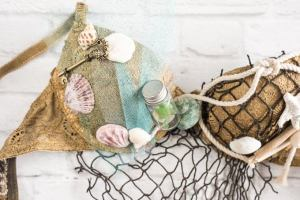 HOW TO MAKE A MERMAID BRA – DIY MERMAID BRA COSTUME