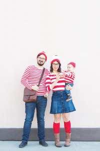 Where's Waldo Costume for a Family
