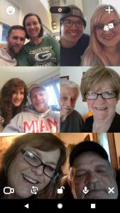 Grandma even downloaded and used the House Party app to keep in touch with us!