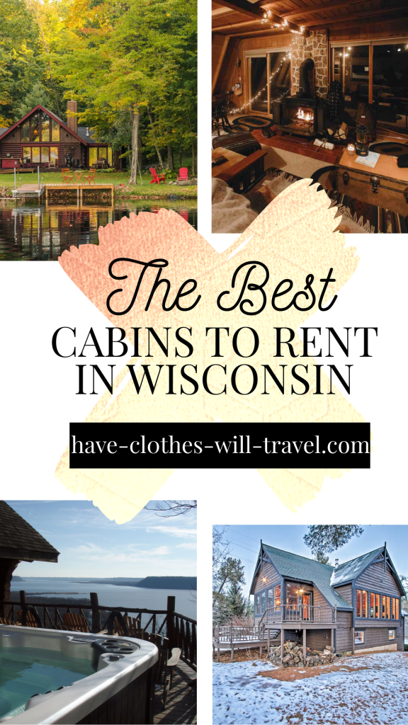 Awesome Cabins to Rent in Wisconsin for Your Getaway