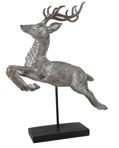 "30"" Christmas Tabletop Leaping Stag by Ashland®"