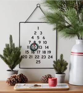 Holiday Advent Calendar with Wreath - Hearth & Hand™ with Magnolia