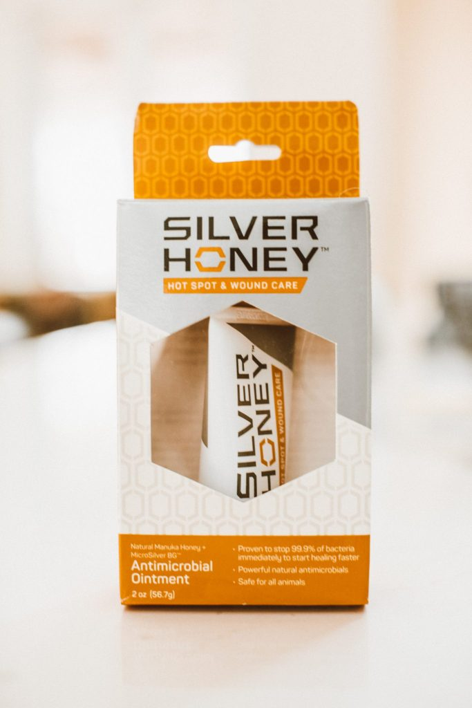 Silver Honey Hot Spot Cream