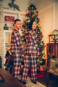 The Scotch On The Rocks Mens Christmas Pajama Top
