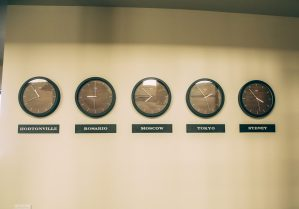 Time zone wall