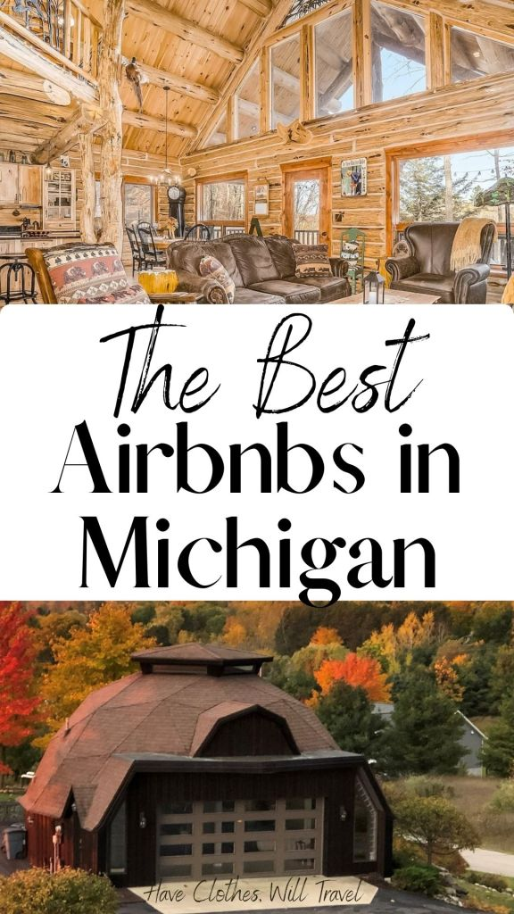 The Coolest Airbnbs in Michigan for 2021 - Featuring Treehouses, Tiny Homes, Lighthouses & More!