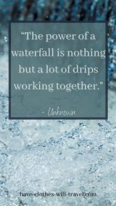 The BEST Waterfall Quotes
