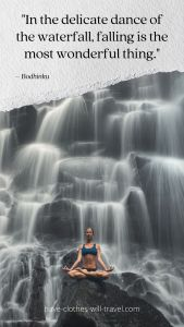 Waterfall Caption for Social Media