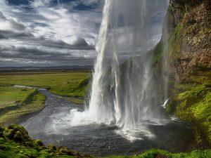 pretty waterfall photo