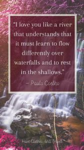 Inspiring Quotes about waterfalls