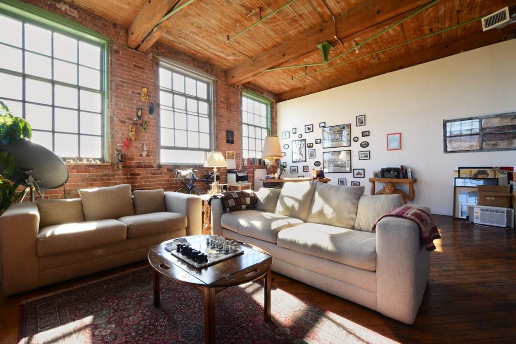 Artsy River Loft Near Downtown Airbnbs in Michigan