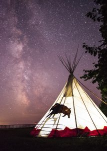 The lost Tepee Airbnb in Michigan