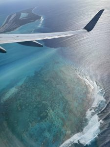 Arriving to Turks and Caicos