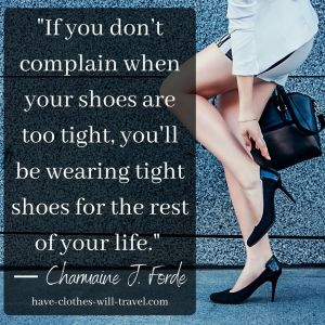 Shoes quotes and captions for Instagram