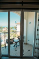 Photos of our room in the Italian Village in Turks and Caicos