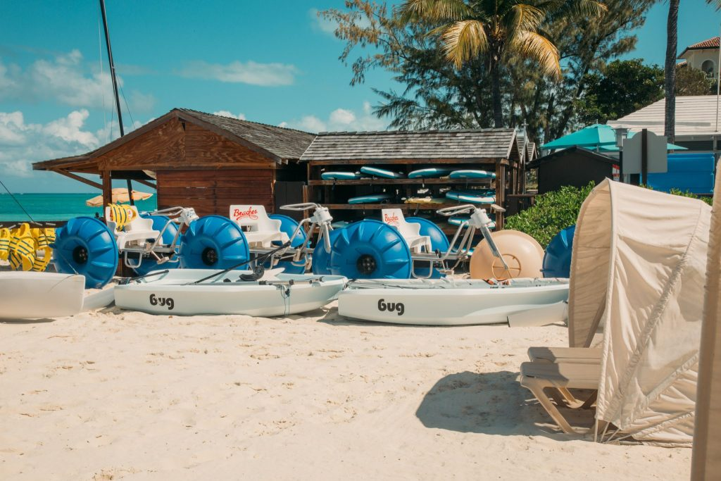 All the fun water activities at Beaches Resorts