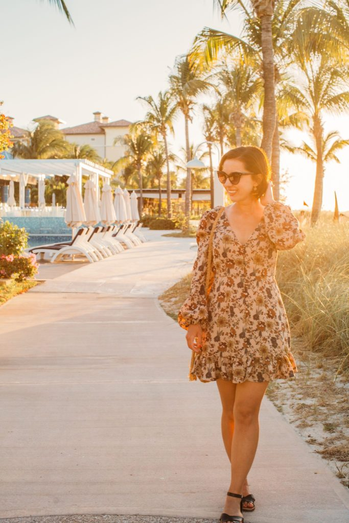 I liked taking my outfit photos in the Keywest Village because it was so quiet.