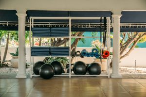 French Village Turks and Caicos Gym Equipment