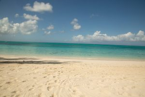 Grace Bay Beach by the Caribbean Village