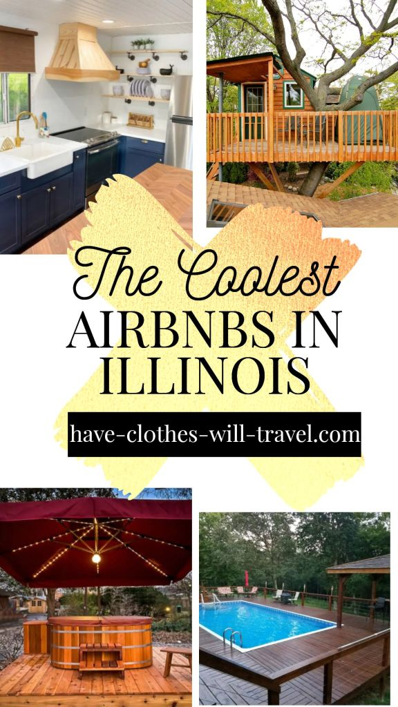 The Coolest Airbnbs in Illinois Featuring Cabins With Pools, Treehouses, Houseboats & More