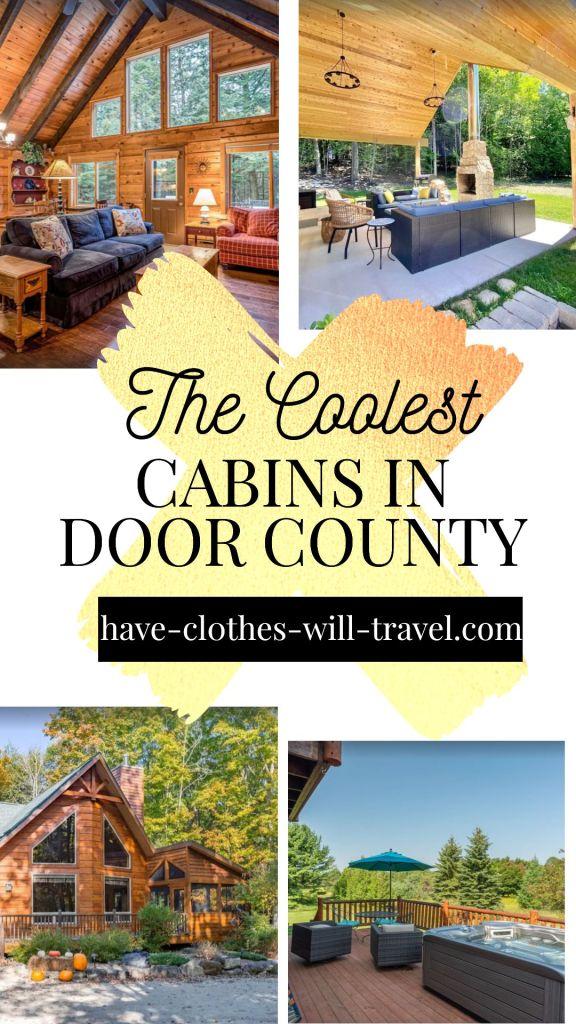 The Coolest Cabins in Door County, Wisconsin to Rent for Your Next Getaway
