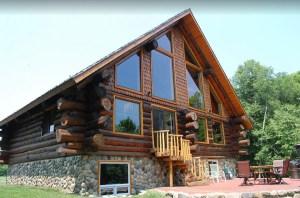 Luxurious Rustic Cabin Getaway on Loon Lake. Built in 2013