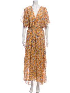 ASTR Floral Print Long Dress