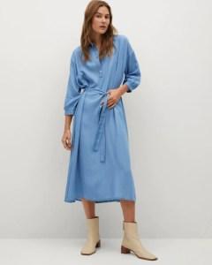Modest dresses for women by Mango