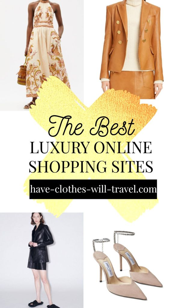 32+ Best Luxury Online Shopping Sites for Designer Clothing, Bags, Shoes & More