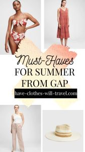 Must-Haves From Gap for a Stylish & Comfortable Summer Wardrobe