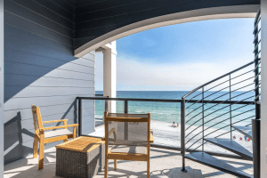 New Luxury 6-bedroom Beachfront Villa with Gulf Views and Private Rooftop Pool - Crystal Beach, Destin, Florida