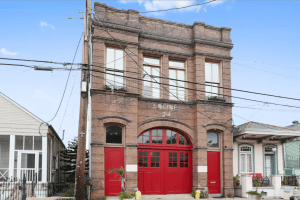 New Orleans Authentic Historic Engine 24 French Quarter Firehouse