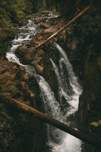 Sol Duc Falls in Washington