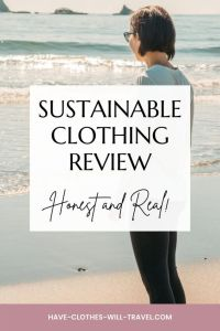 Sustainable Clothing Review